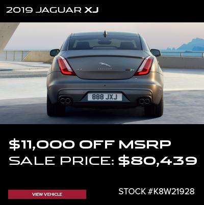 New 2019 Jaguar XJ Supercharged RWD 4D Sedan