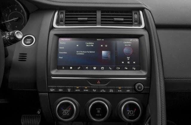 Jaguar E-PACE Technology Features