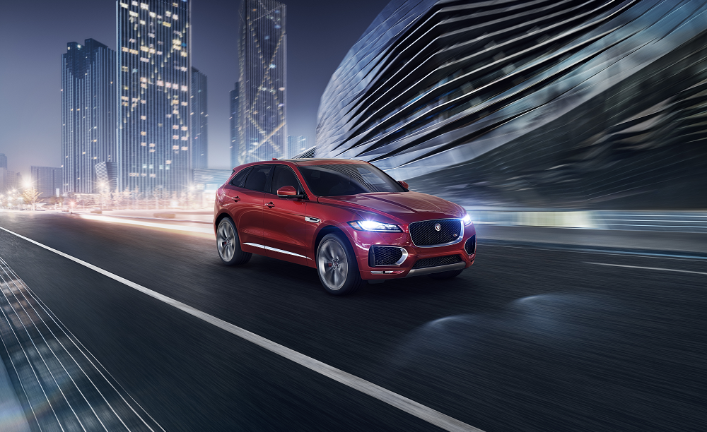 Jaguar F-PACE Performance Specs