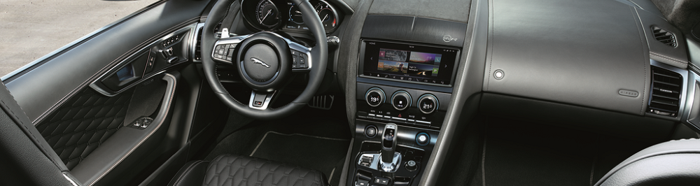 Jaguar F-TYPE Interior Design
