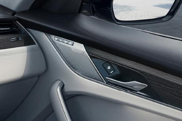 Jaguar interior cab.