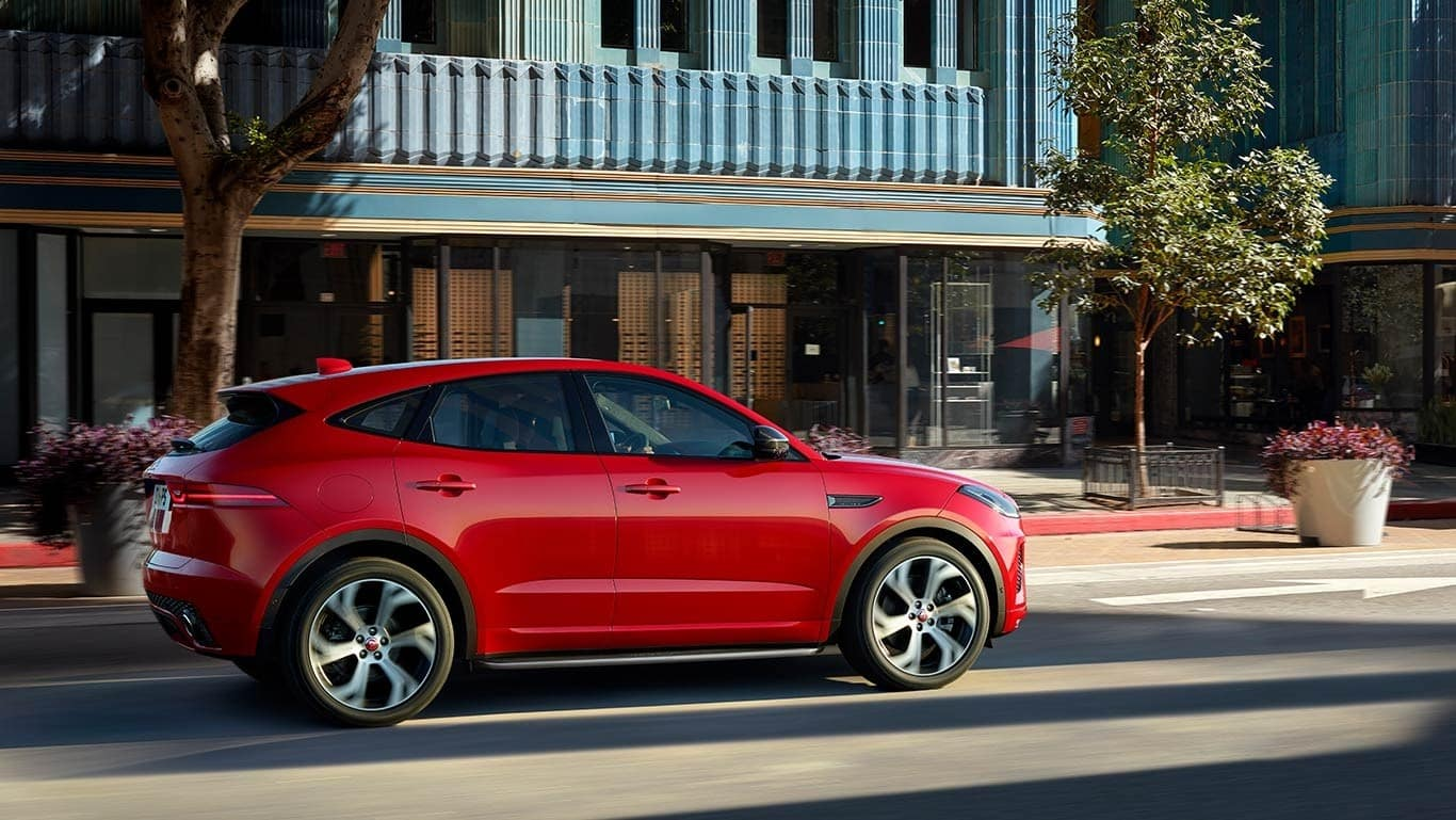 2018 Jaguar E PACE First Edition driving