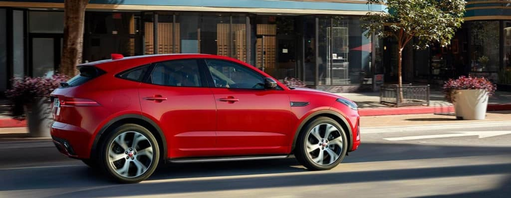 2018 Jaguar E-PACE red