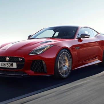 2019 jaguar f-type svr in caldera red