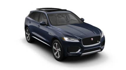 2019 f-pace s side view
