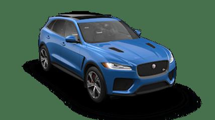 2019 jaguar f-pace svr side view