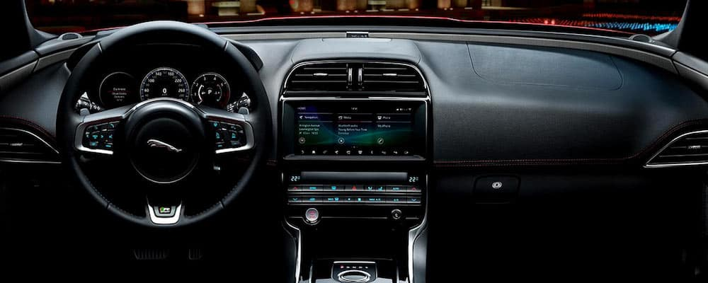 2019 xe infotainment display