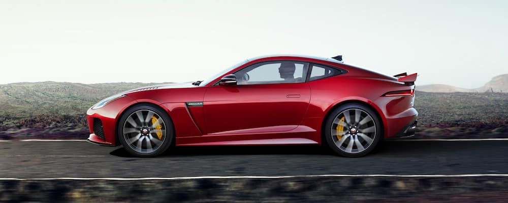 2019 f-type driving on highway