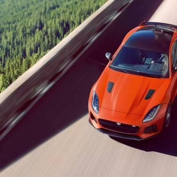 2017 Jaguar F-TYPE Firesans Top View
