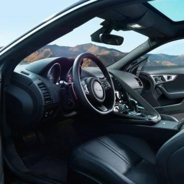 2017 Jaguar F-TYPE Interior