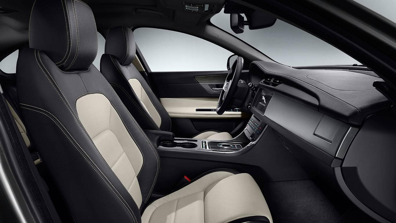 2017 XF Exterior front interior