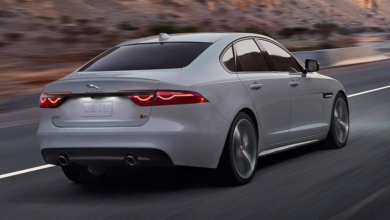 2017 XF Exterior rear view