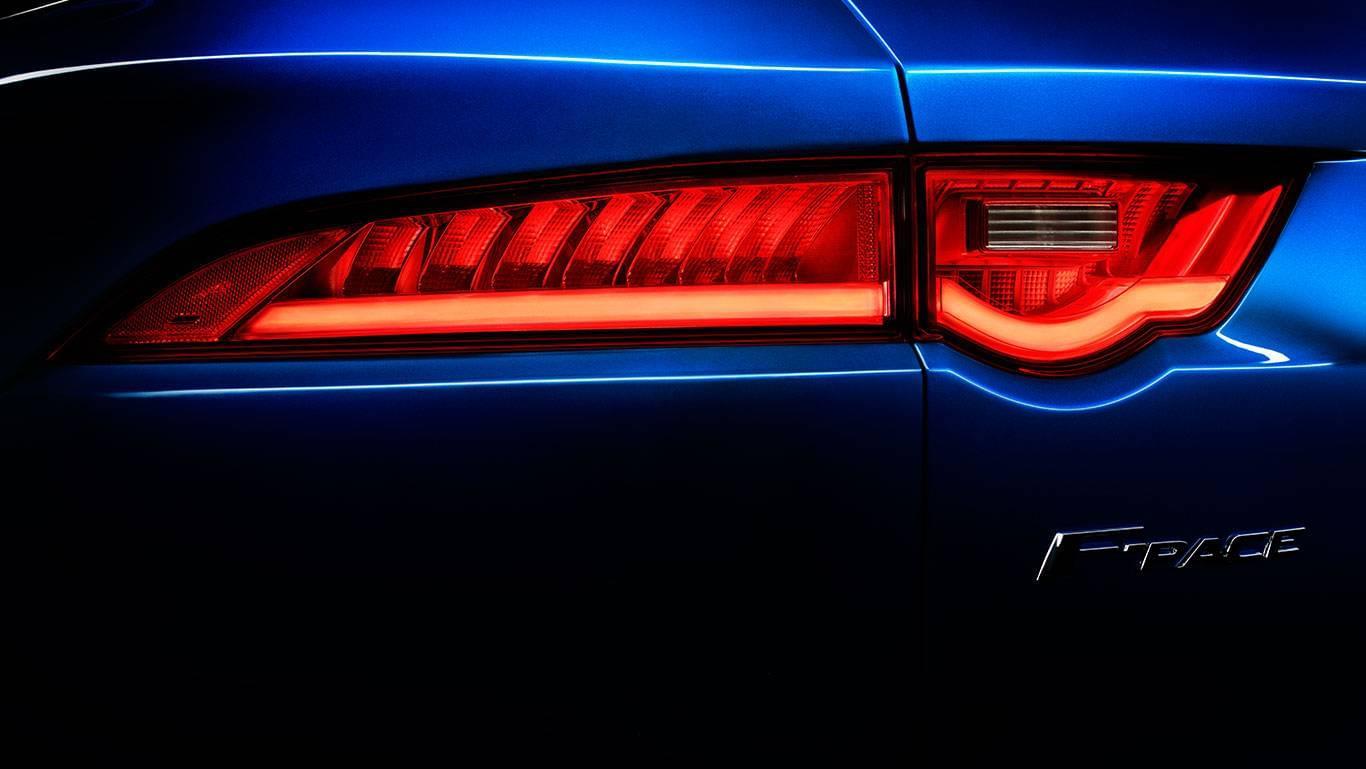 Jaguar F-PACE tail lights