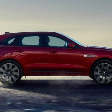 2018 Jaguar F-PACE side view