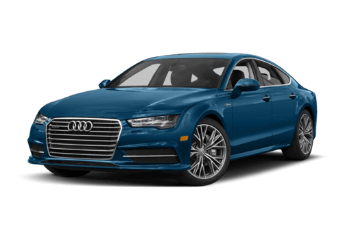 2017 Audi A7 white background