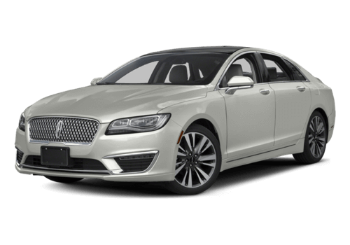 2017 Lincoln MKZ white background