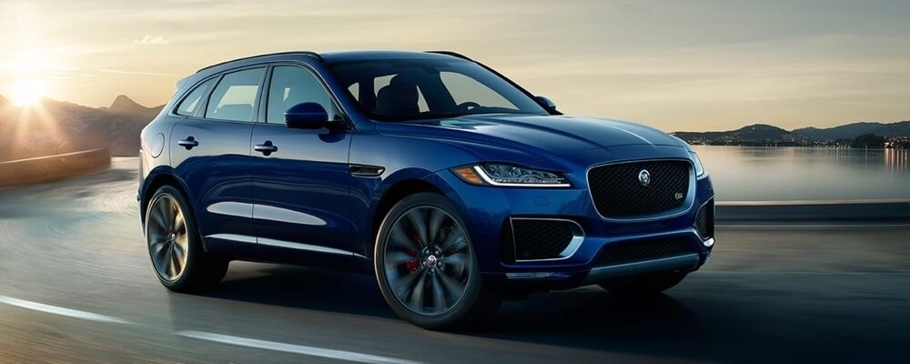 2018 Jaguar F-PACE Exterior Features