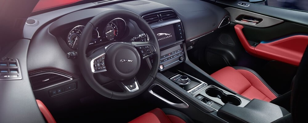 2018 Jaguar F-PACE Interior Features