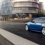 Jaguar XE blue exterior