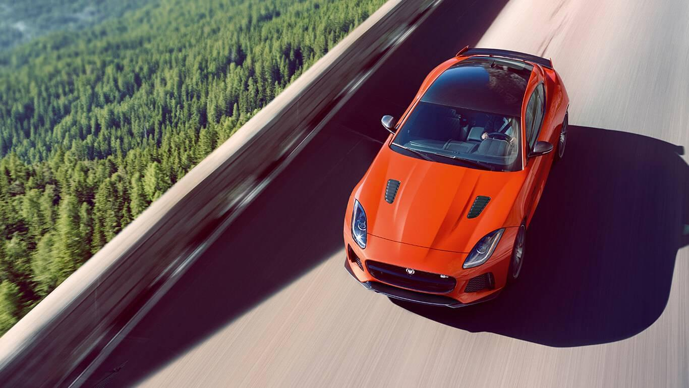 2017 Jaguar F-TYPE Firesans Top View