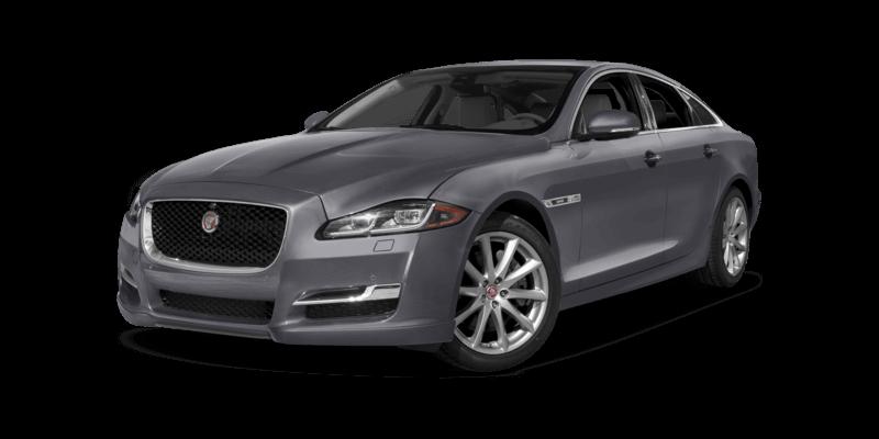 2017 Jaguar XJ dark grey exterior