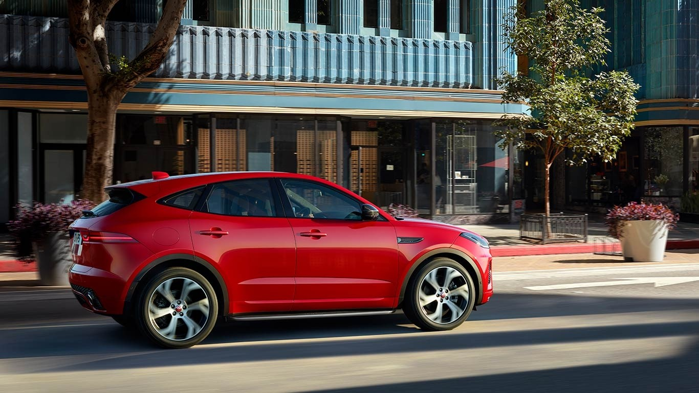 2018 Jaguar E-PACE side view
