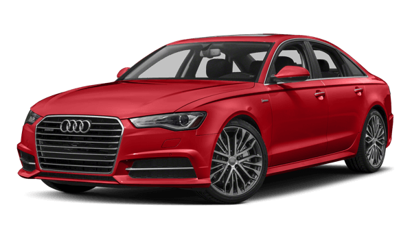 2018 Audi A6 white background