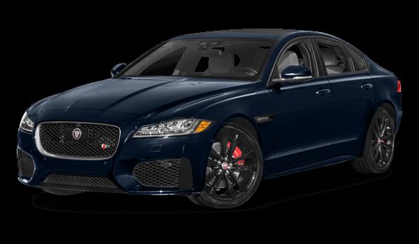2018 Jaguar XF white background