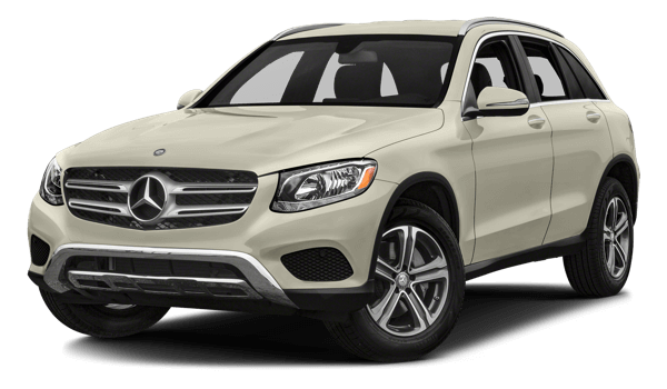 2018 Mercedes-Benz GLC white background