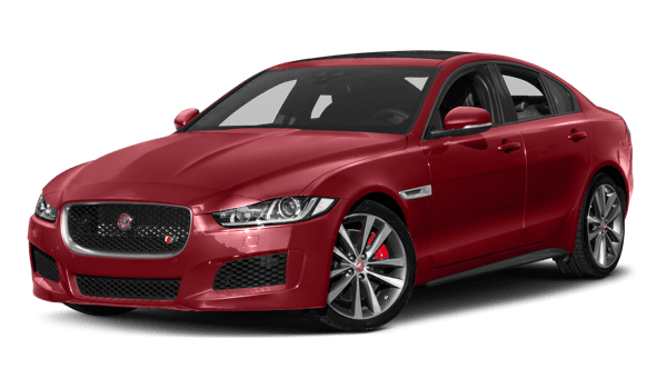 2018 Jaguar XE white background