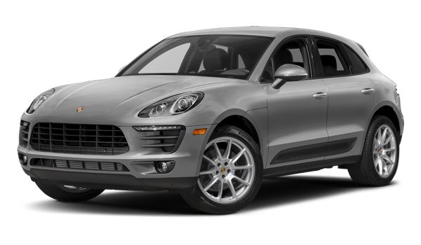 2018 Porsche Macan white background