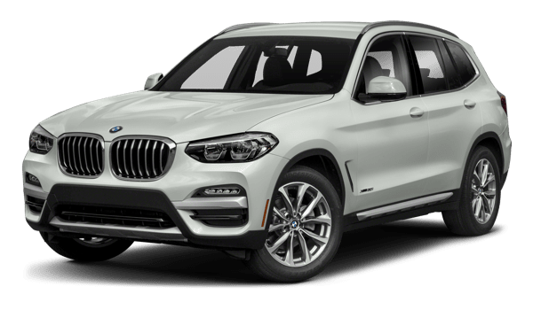 2018 BMW X3 white background