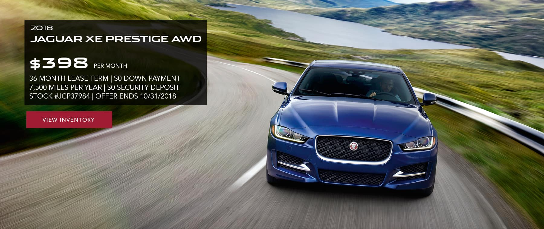 Attractive Check Dealer For Availability. Offer Must Be Presented At Time Of Purchase.  See Jaguar Of Paramus For Details.
