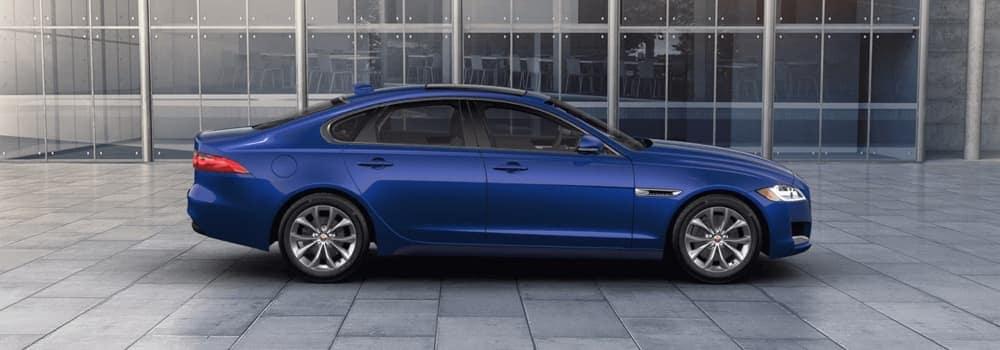 2018 Jaguar XF Exterior Caesium Blue
