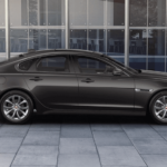 2018 Jaguar XF exterior in Carpathian-Grey