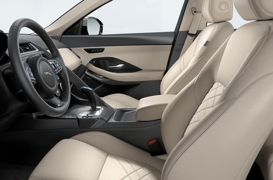 2019 Jaguar E-PACE front interior