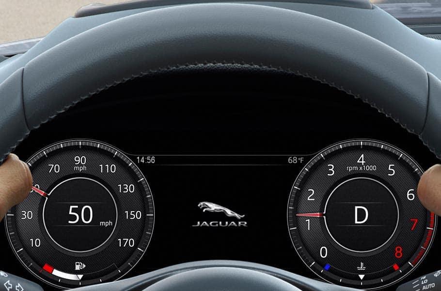 2019 Jaguar E-PACE interior