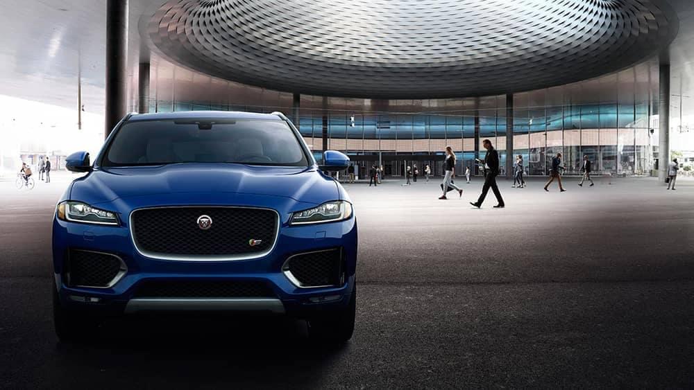 2019 Jaguar F-PACE front exterior