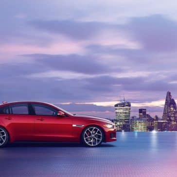 2019 Jaguar XE side view