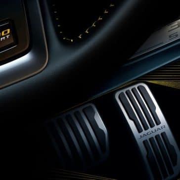 2019 Jaguar XE pedal