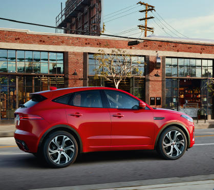 LEASE A EX-SERVICE LOANER 2018 JAGUAR E-PACE AWD S FOR $399 PER MONTH