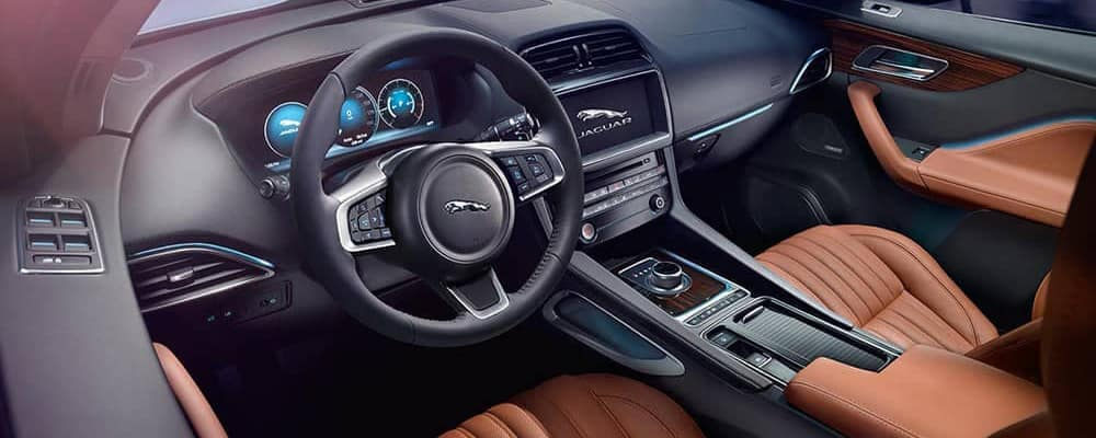 2019 Jaguar F-Pace Interior