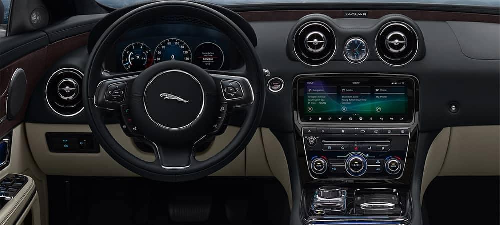 2019 Jaguar XJ Interior Dashboard Features