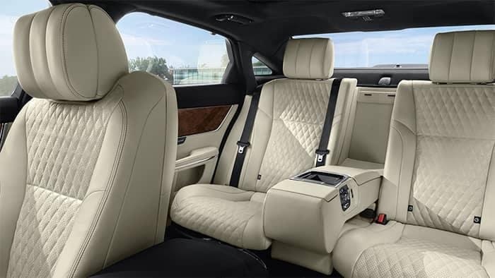 2019 Jaguar XJ Interior Rear Seating