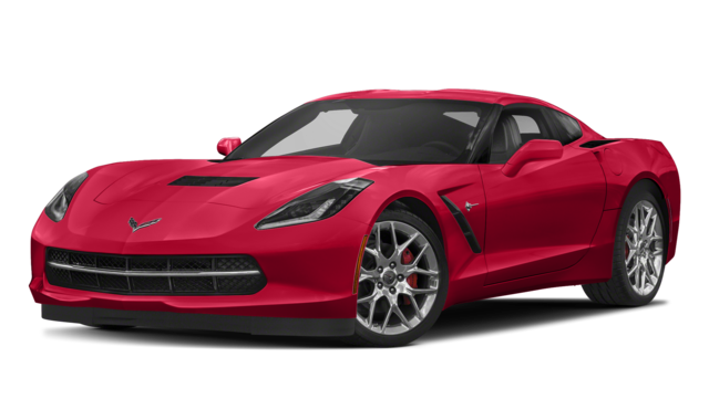 2018 chevy corvette red