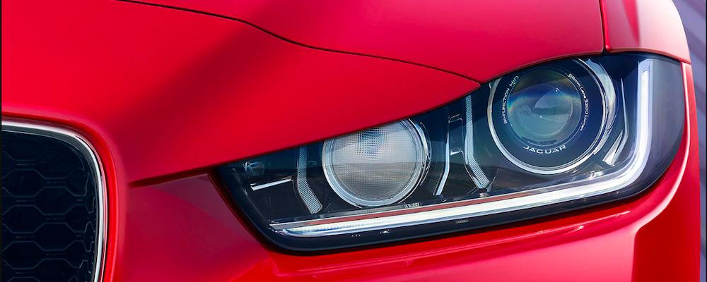 jaguar xe xenon headlights
