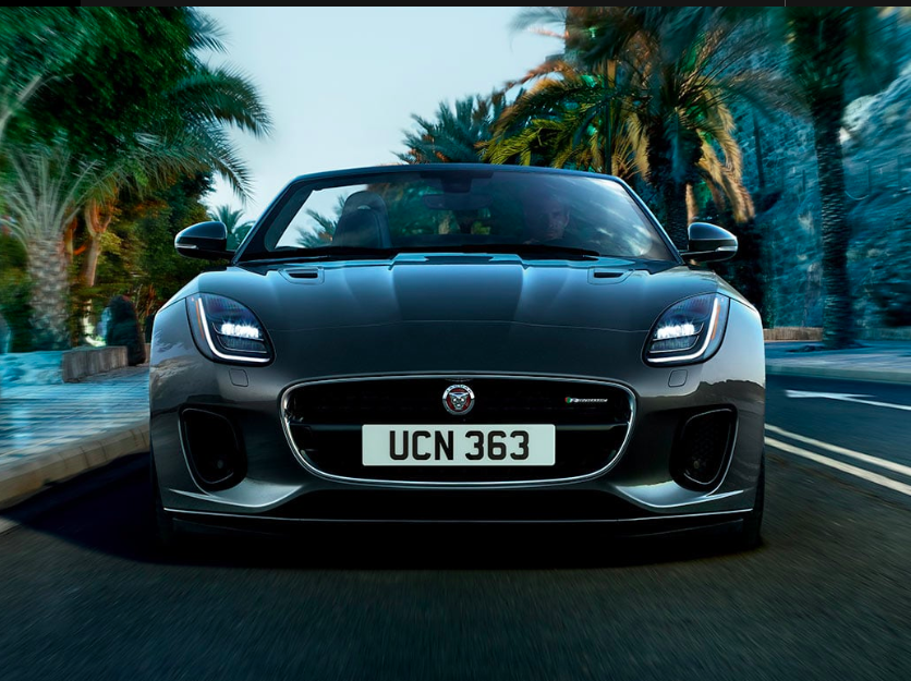 LEASE A NEW 2020 JAGUAR F-TYPE CONVERTIBLE P300 FOR $549 PER MONTH.