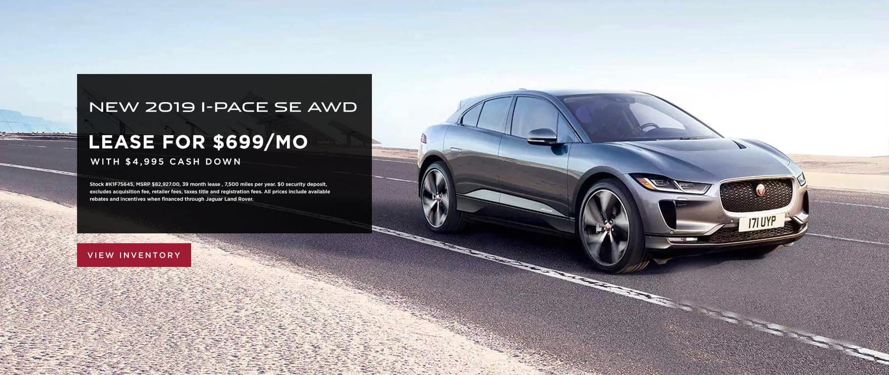 2019 I-PACE SE AWD