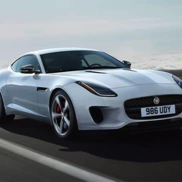 2020 Jaguar F-Type On Open Road