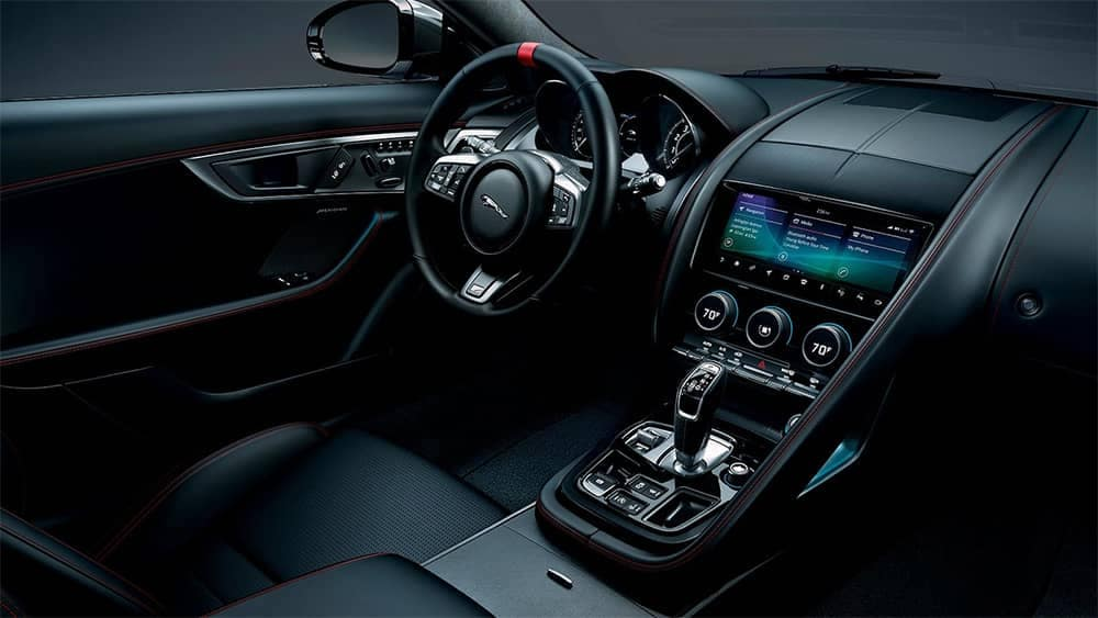 2020 Jaguar F-Type Dash